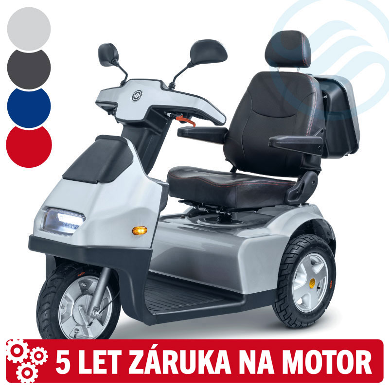 Afiscooter S3, 105 Ah, modrý (model 2021)